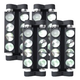 MARQ Ray Tracer X Dual Roller LED Moving Head Light 4-Pack