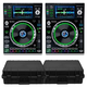 Denon SC5000 Prime DJ Media Players w/ Cases