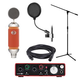 Blue Spark Condenser Mic Home Recording Package