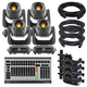 Chauvet Intimidator Spot 375Z IRC 4-Pack with DMX Controller
