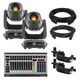 Chauvet Intimidator Spot 375Z IRC 2-Pack with DMX Controller