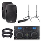 Gemini CDM-4000 DJ Media Player w/ AS-15P Speaker Pack
