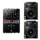 Pioneer CDJ-2000NXS2 DJ Multi Player Pair w/ DJM-S9 Mixer