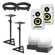 KRK V Series 4 White Noise 4-Inch Studio Monitors Kit