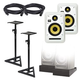 KRK V Series 4 White Noise 6-Inch Studio Monitors Kit