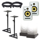KRK V Series 4 White Noise 8-Inch Studio Monitors Kit