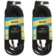 50-Foot MDP Banana Plug to 1/4-Inch Speaker Cable Pair