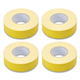 Hosa GFT-447YE Yellow Gaff Tape 2In x 60Yd 4-Pack