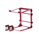 Odyssey LSTANDMRED Folding DJ Laptop Stand Red
