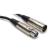 Hosa XLR-115 15ft XLR (F) to XLR (M) Cable