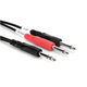 Hosa STP-204 Cable 1/4 TRS to Dual 1/4 TS 4M