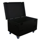 Odyssey FZUTWBL Black Utility Trunk with Casters *