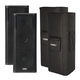 QSC KW153 15-Inch 3-Way Powered Speaker Pair w/ Covers