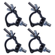 Global Truss Jr Clamp Black for F23/24 4-Pack