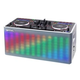 Gemini MIX2GO Portable DJ Controller w/ Built-In Speaker & Lights