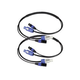 Blizzard PowerCon 3-Pin DMX Combo 10Ft Cable Pair