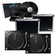 Pioneer PLX1000 Turntables & Cases with rekordbox DVS