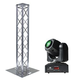 Global Truss Light Weight 6.56 Ft Totem with ADJ Inno Pocket Spot