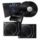 Pioneer PLX-500 Turntables w/ rekordbox INTERFACE2 DVS