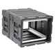 SKB 3RS-7U24-25B 7U Non-Removable Shock Rack 24In