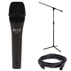 Alto ADM7 Dynamic Vocal Mic with Stand and Cable