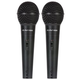Peavey PVi 100 Dynamic Vocal Microphone 2-Pack