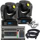 Martin THRILL Mini Profile 2-Pack w/ DMX Controller