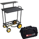 Rock N Roller R12RT Cart w/ Multi-Shelf and Bag
