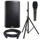 Alto TS212 12-inch Powered Speaker and ADM7 Mic w/ Speaker Stand