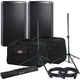 Alto TS212 12-inch Powered Speakers w/ Gator Totes & Stands