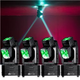 ADJ American DJ XS-400 4x10-Watt RGBW LED Moving Head Light 4-Pack