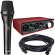 Focusrite Scarlett 2i2 USB Audio Interface w/ AKG P5i Dynamic Mic