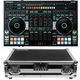 Roland DJ-808 Serato DJ Controller with Odyssey Flight Case
