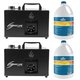 Chauvet Hurricane Haze 1DX Haze Machine 2-Pack with Fluid