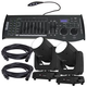 Chauvet Intimidator Beam 355 IRC Moving Head Light 2-Pack w/ Controller