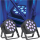 ADJ American DJ 12P Hex LED Wash Light 2-Pack
