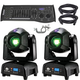 ADJ American DJ Focus Spot Two Moving Head 2-Pack with DMX Controller