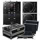 Pioneer DJM-S3 Mixer for Serato DJ & PLX-500 Turntables w/ Cases