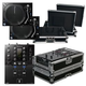 Pioneer DJM-S3 Mixer for Serato DJ & PLX1000 Turntables w/ Cases