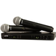 Shure BLX288/PG58 Dual Wireless Mic System H9