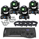 ADJ American DJ Focus Spot Two 4-Pack with DMX Controller