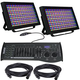 ADJ American DJ Profile Panel RGBA LED Wash 2-Pack with Controller