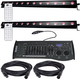 ADJ American DJ UB 12H LED Linear Wash 2-Pack with DMX Controller