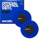 Serato SCV-PS-BLU-7 7In Control Vinyl Blue Pair