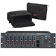 Alesis MULTIMIX-10 Wireless Rack Mixer w/ Gator Rolling Bag