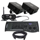 Mega Lite Color Pac 150N 2-Pack with Transceiver & Controller