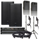 PreSonus AIR12 Powered Speakers & RML16AI Rack Mixer w/ Ultimate Stands