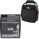 Behringer Xenyx 1002FX 10-Channel Mixer w/ Gator Bag
