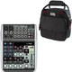 Behringer Xenyx Q1002USB PA Mixer with Gator Bag