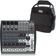 Behringer Xenyx 1202 12-Channel Mixer w/ Gator Bag